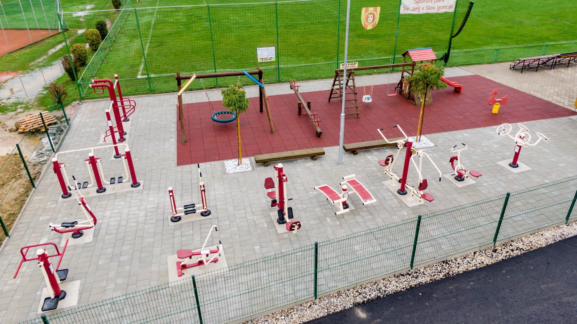 Športni park Sveti Jurij v Slovenskih goricah