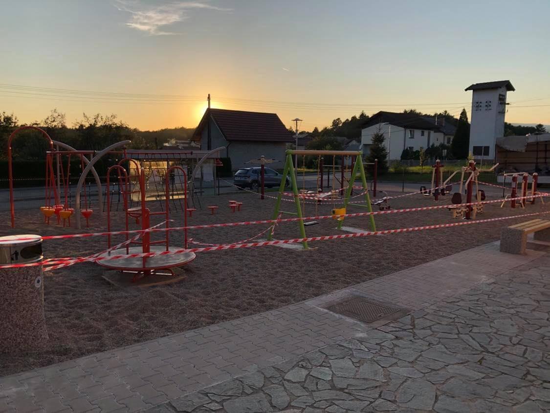 Športni park v KS Črešnjevec